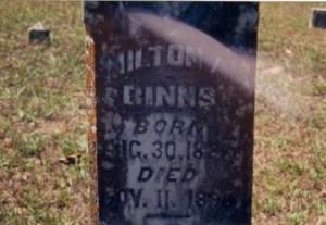 Milton A Binns Gravemarker